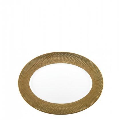 Ovali lėkštė Gold Princess
