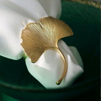 Servetėlių žiedai Ginkgo