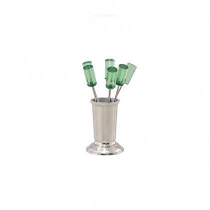 Užkandžių smeigtukai Green Cocktail