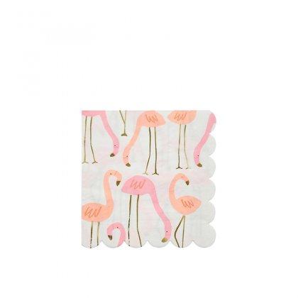 Servetėlės Neon Flamingo (didelės)