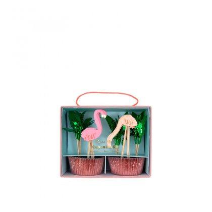 Keksiukų dėkliukai Neon Flamingo