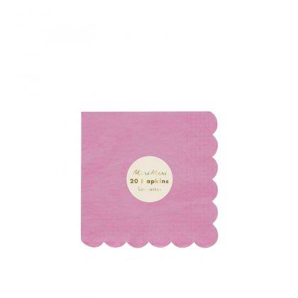 Servetėlės Deep Pink (didelės)