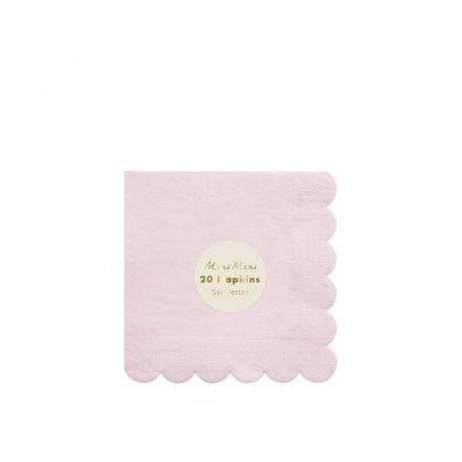 Servetėlės Pale Pink (didelės)