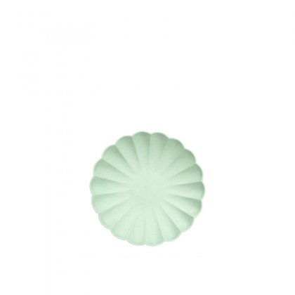 Lėkštės šventei Pale Mint Simply Eco (mažos, 8 vnt.)