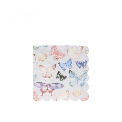 Servetėlės Butterfly (didelės)