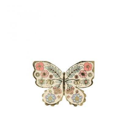 Servetėlės Floral Butterfly