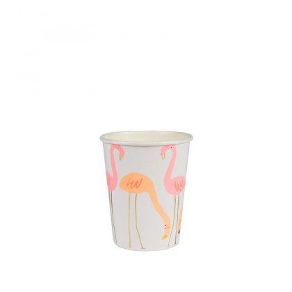 Puodeliai Neon Flamingo